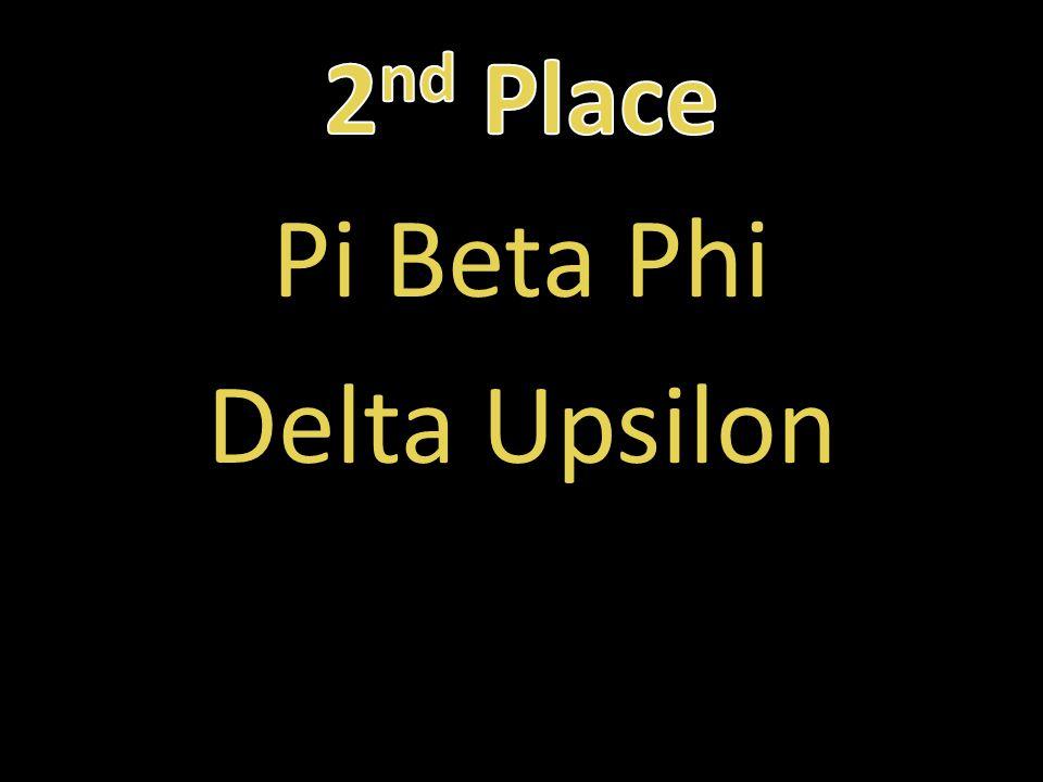 Pi Beta Phi Delta Upsilon