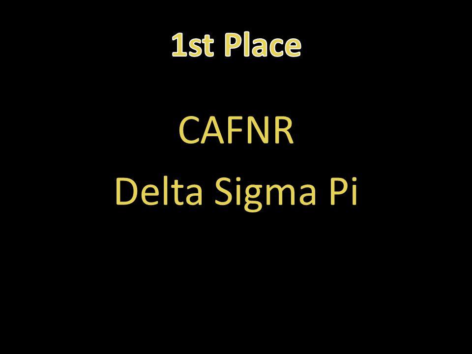 CAFNR Delta Sigma Pi