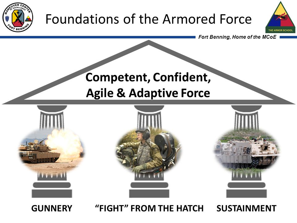 Fort Benning, Home of the MCoE Maneuver Center of Excellence - Team of Soldiers, Families, and Civilians from the Best Army in the World.