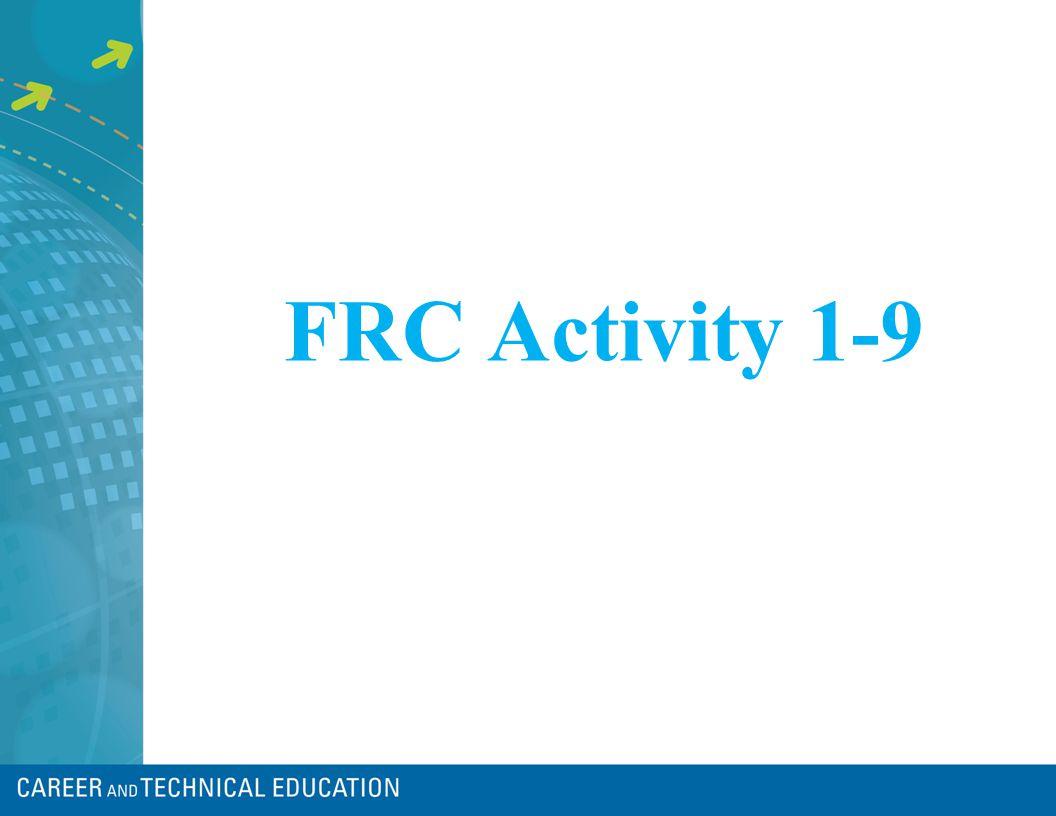 FRC Activity 1-9