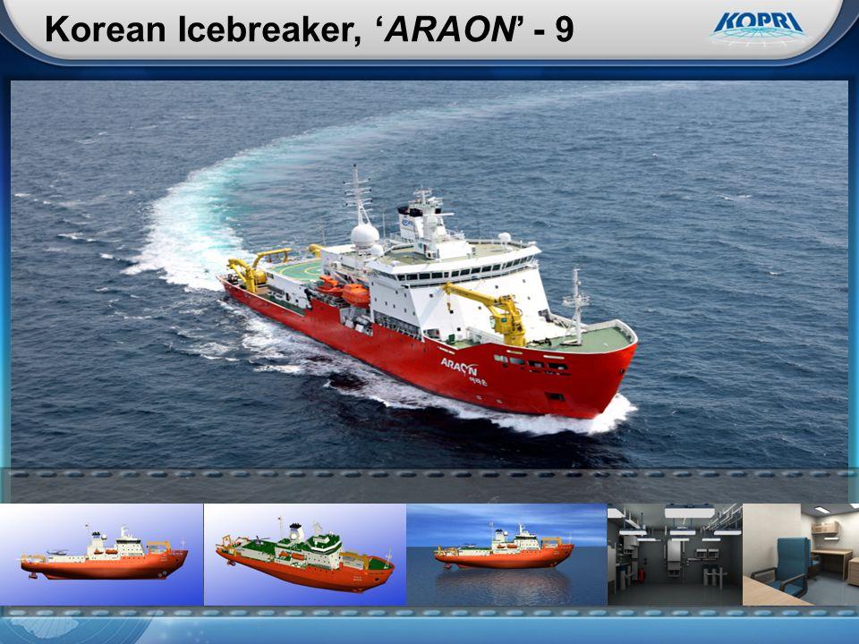 Korean Icebreaker, 'ARAON' - 9