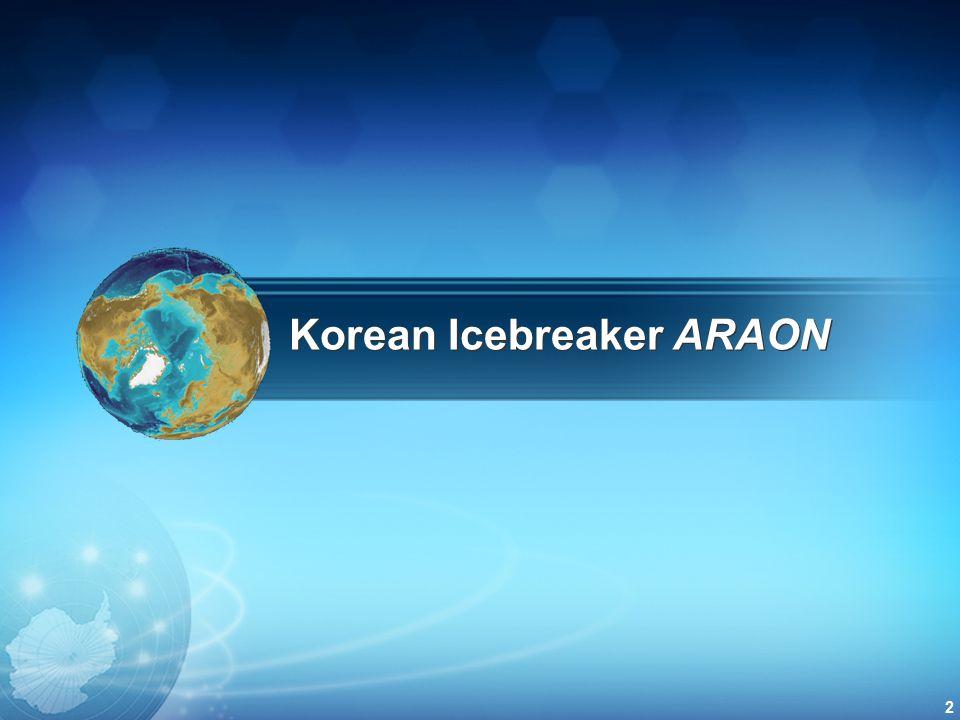 Korean Icebreaker ARAON 2