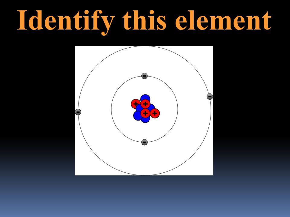 Identify this element