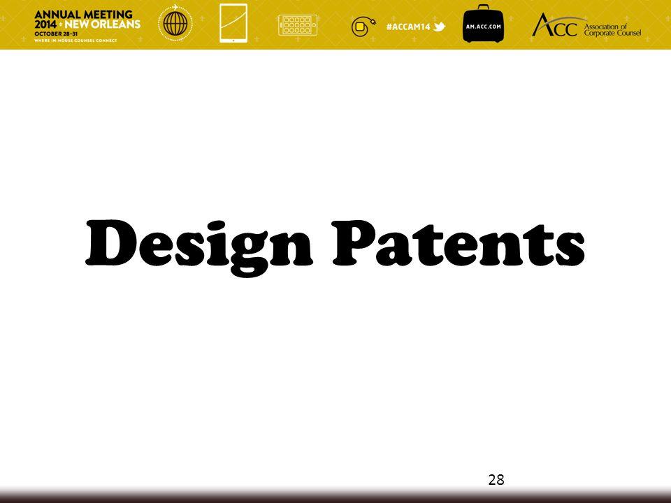 Design Patents 28