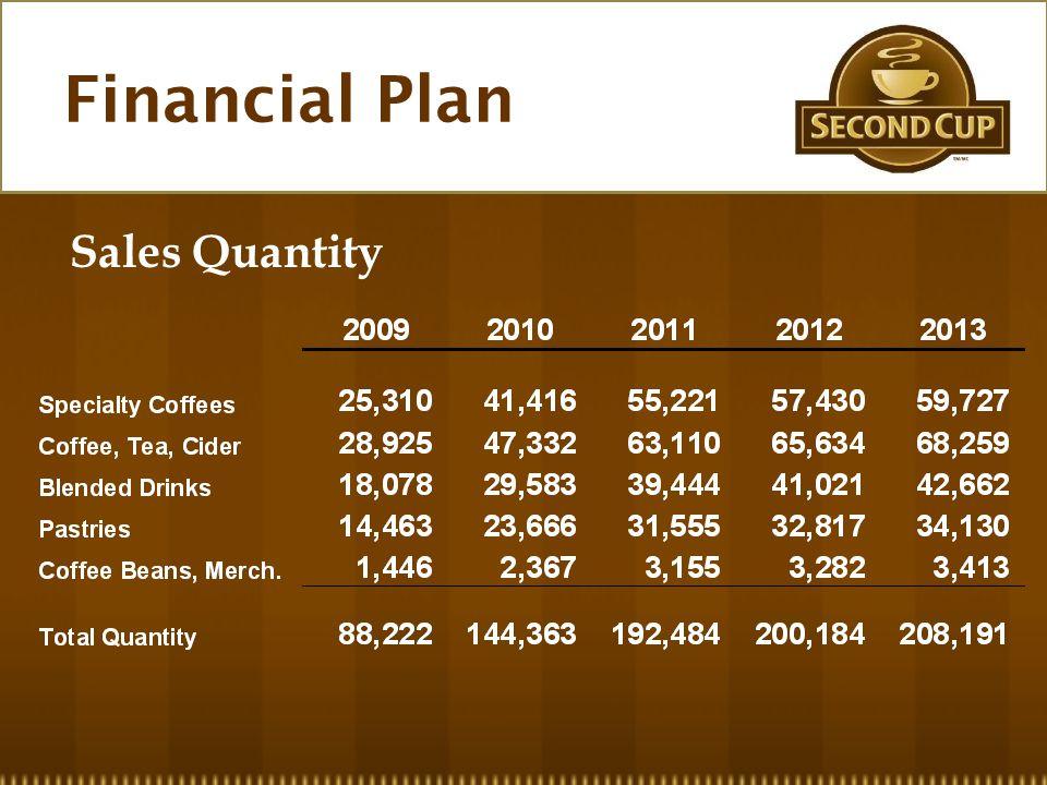 Sales Quantity Financial Plan