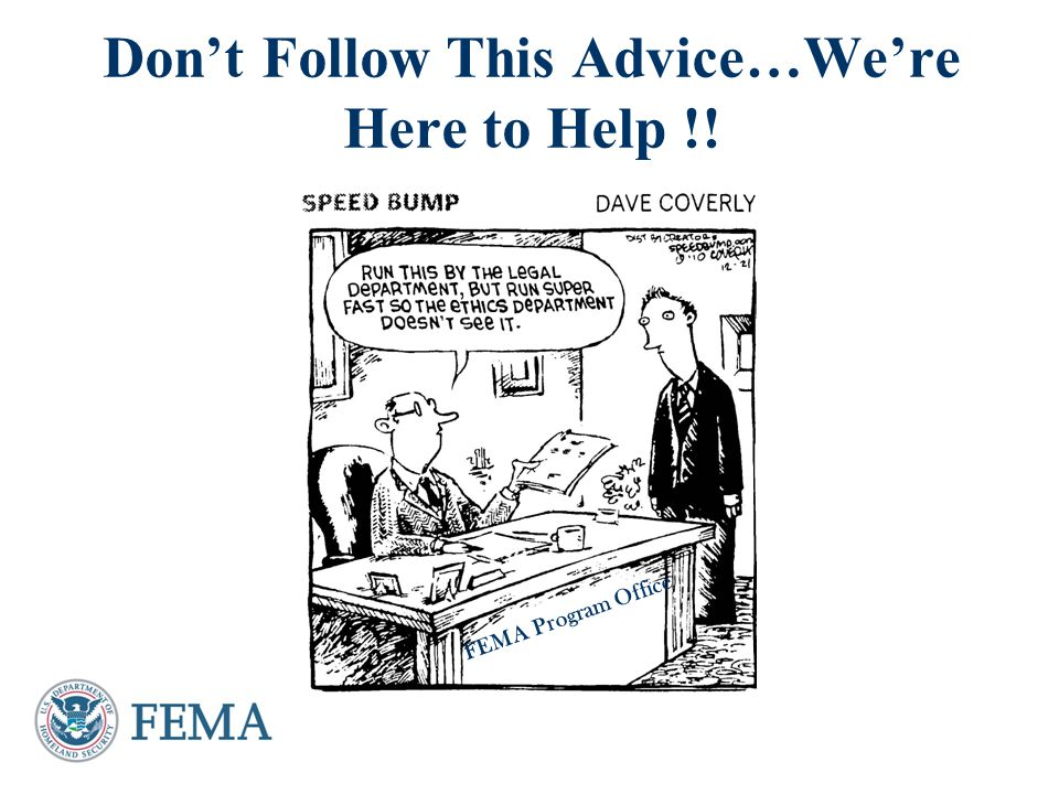 Presenter's Name June 17, 2003 Why Should You Get Advice from an Agency Ethics Attorney.