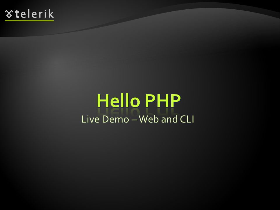 Live Demo – Web and CLI