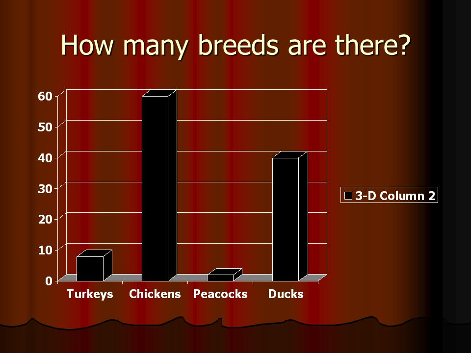 How many breeds are there?