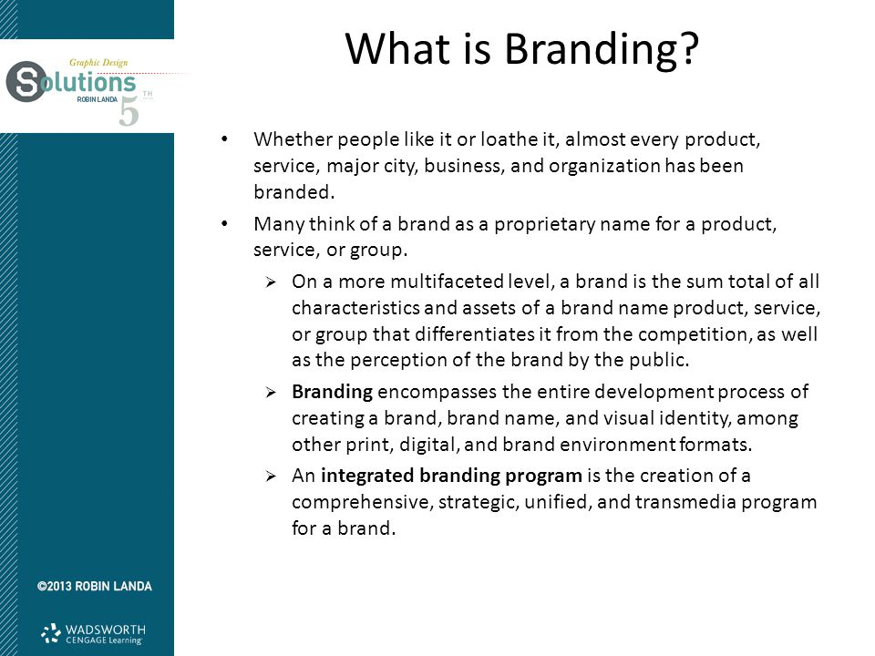 What is Branding.