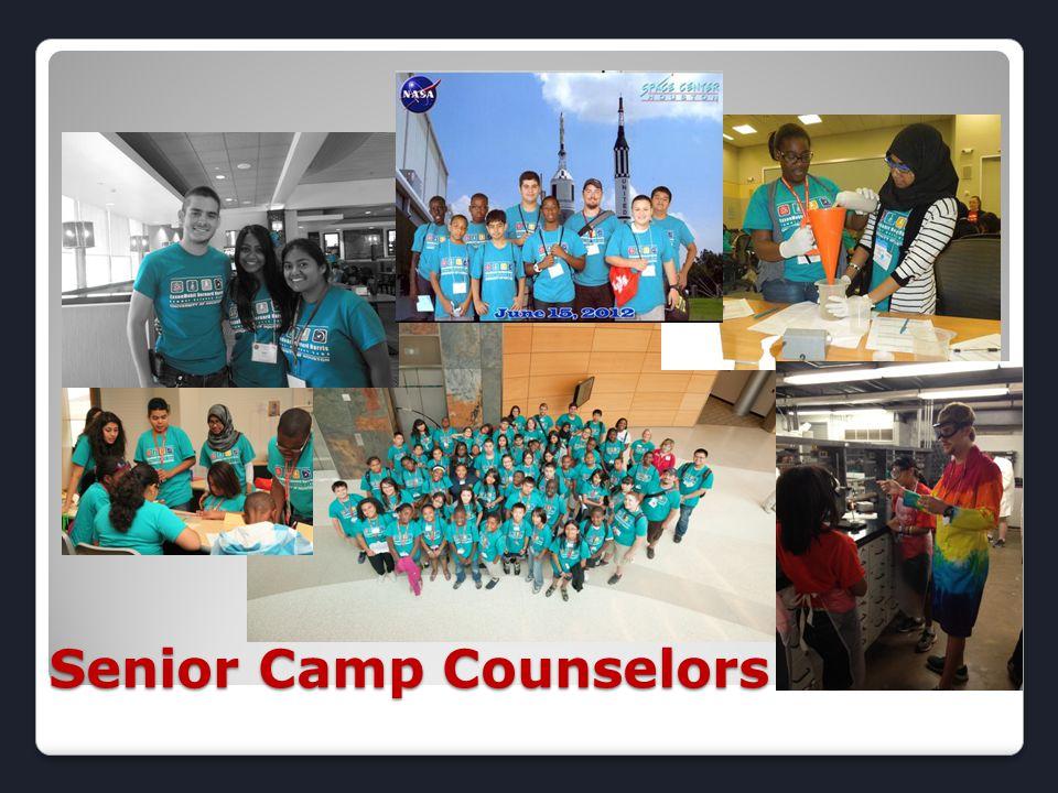 Senior Camp Counselors