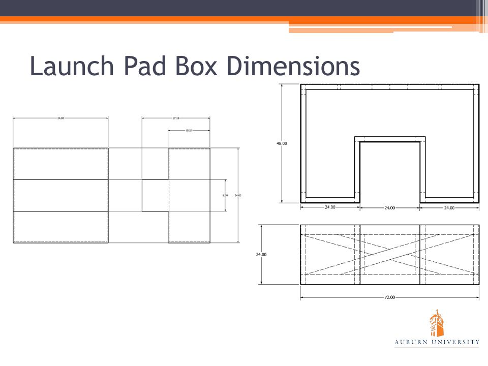 Launch Pad Box Dimensions