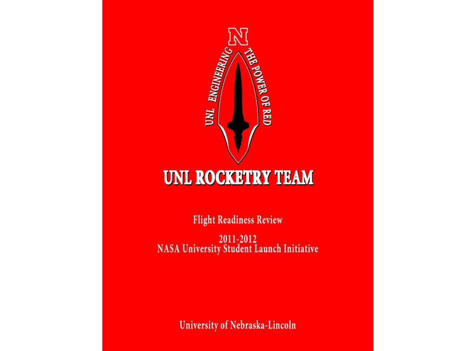 22 University of Nebraska - Lincoln Subsystem Test PlanVerification MetricStatus Altimeter Accuracy -Subscale Test flights-Agreement between altimeters Completed March Recovery System Deployment -Ground Simulation -Test flights -Components ejected forcefully -Visually confirm deployment -Vehicle recovered intact -Completed February - Completed March Tracking Equipment -Ground distance test -Test flights -Line of sight transmission at least 1 mile -Successful tracking after launch -Completed March 1.5 mile range -Completed March Motor integration -Test fit -Fit adapter if needed -No shifting of motor -Motor housed internally Completed February Altitude -Full scale test flight for both candidate motors -Add ballast as needed -Compare recorded altitudes with that of simulations Completed March: 7% difference