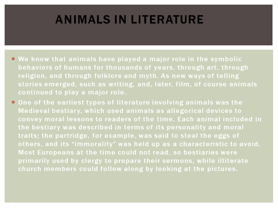  Film has changed both how we see animals and how we think about them. Jonathan Burt  This is particularly true when we acknowledge the extent to which human understanding of animals is shaped by representations rather than by direct experience.