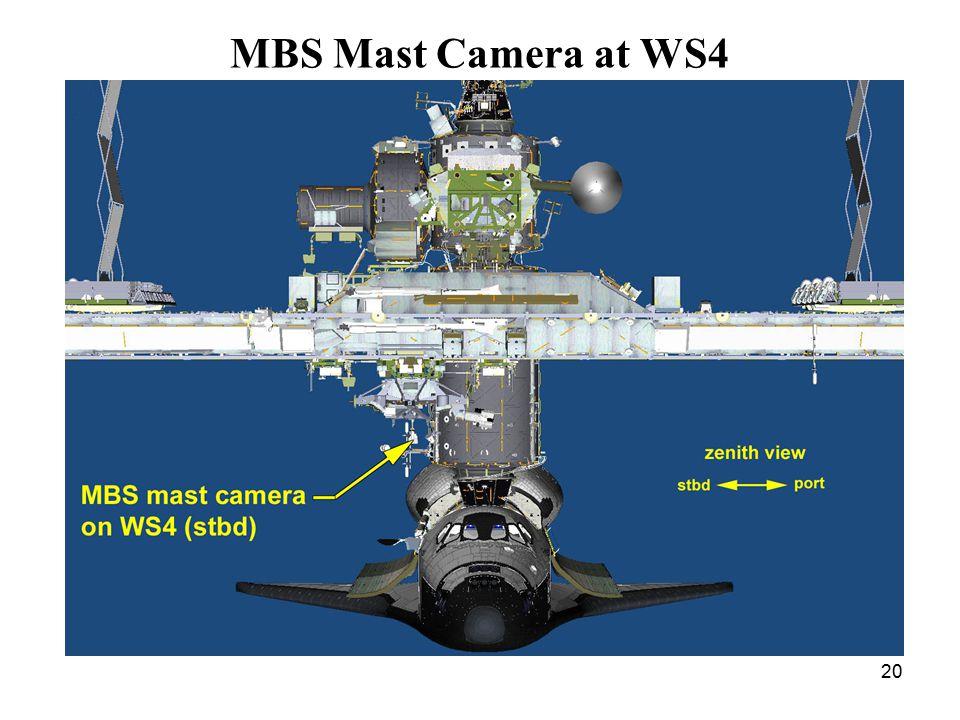 20 MBS Mast Camera at WS4
