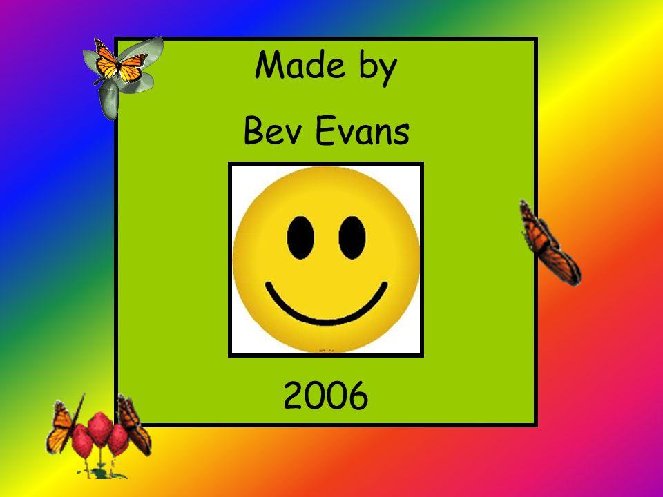 Made by Bev Evans 2006
