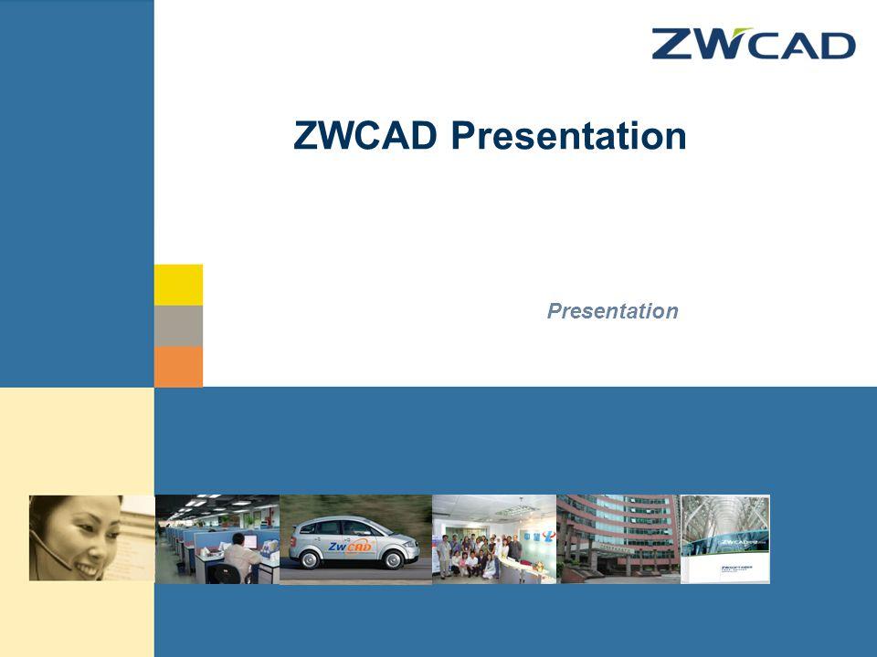 © zwsoft All rights reserved. ZWCAD Presentation Presentation