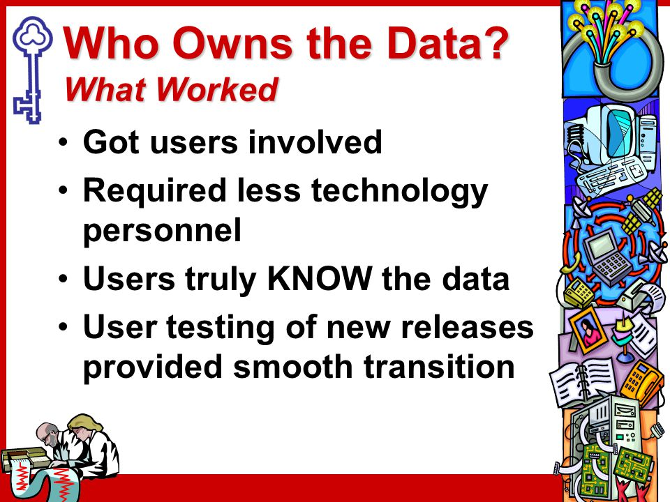 Who Owns the Data.