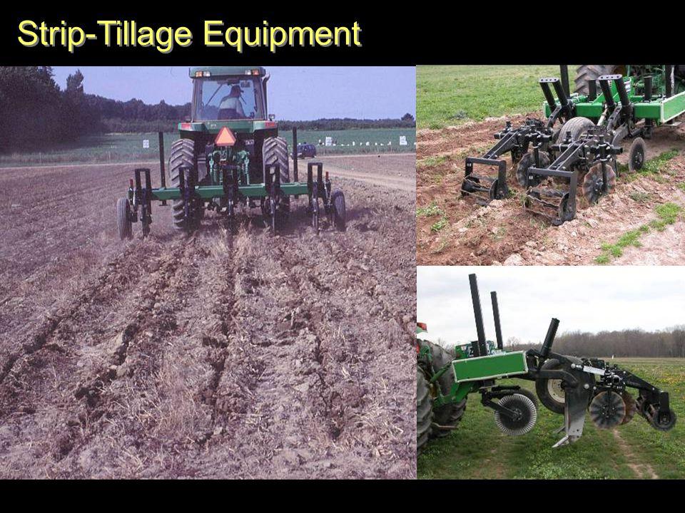 Strip-Tillage Equipment