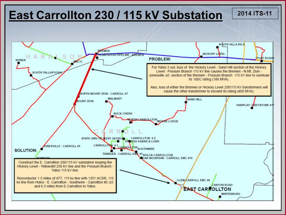 2014 ITS-11 East Carrollton 230 / 115 kV Substation