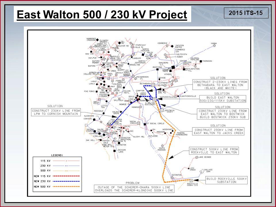 2015 ITS-15 East Walton 500 / 230 kV Project