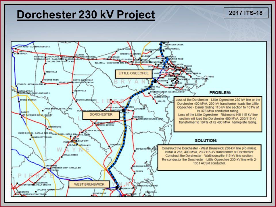 2017 ITS-18 Dorchester 230 kV Project