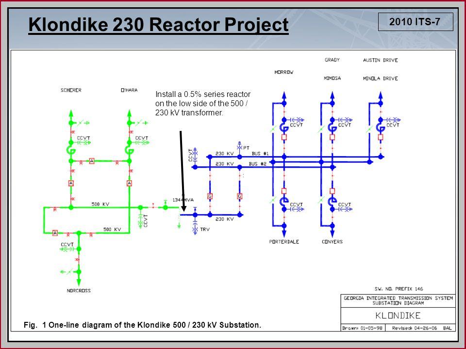 2010 ITS-7 Klondike 230 Reactor Project Fig.