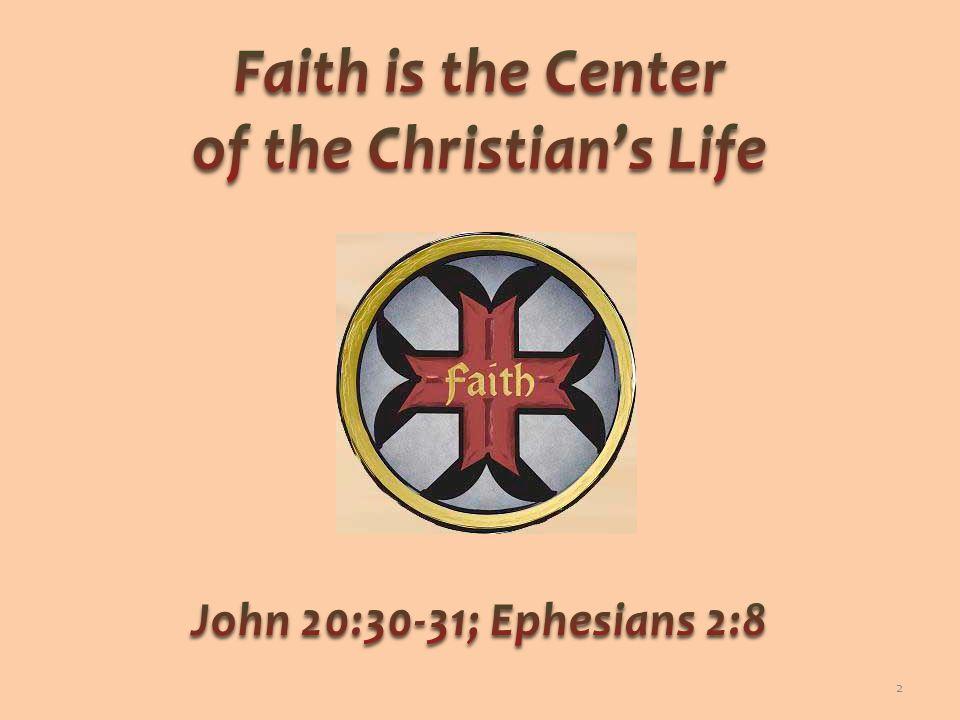 Faith must work; faith must produce; faith must be visible Verbal faith is not enough, Lk 6:46 Mental faith is insufficient, Jno 12:42-43 True faith provokes action, Gal 5:6 3