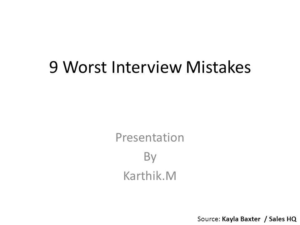 CareerBuilderCareerBuilder recently surveyed hundreds of different employers, asking which interview mistakes were their biggest pet peeves.
