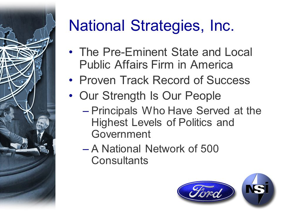 National Strategies, Inc.