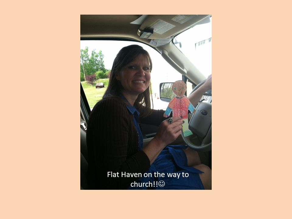 Flat Haven on the way to church!!