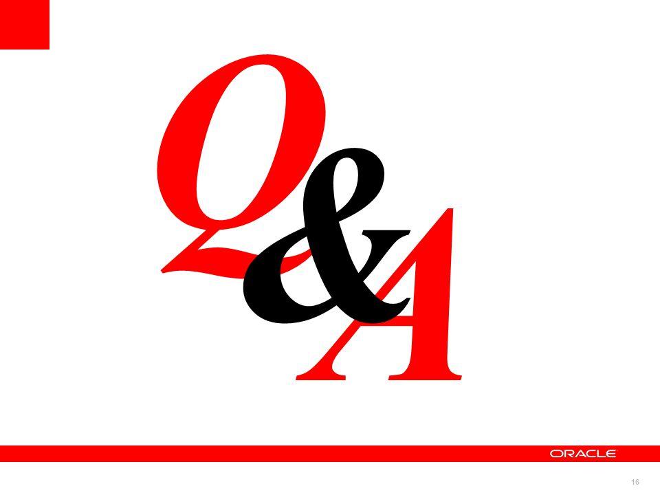 16 A Q &