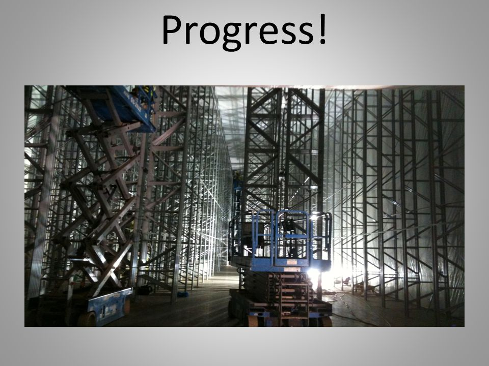 Progress!
