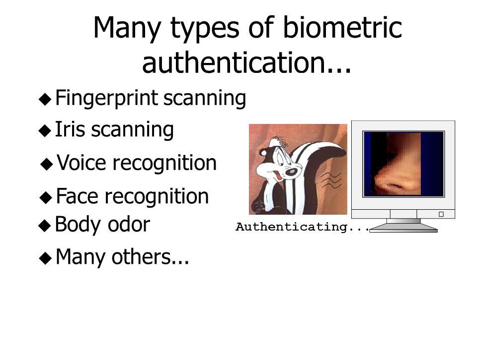 A Comparison Among Biometric Architectures