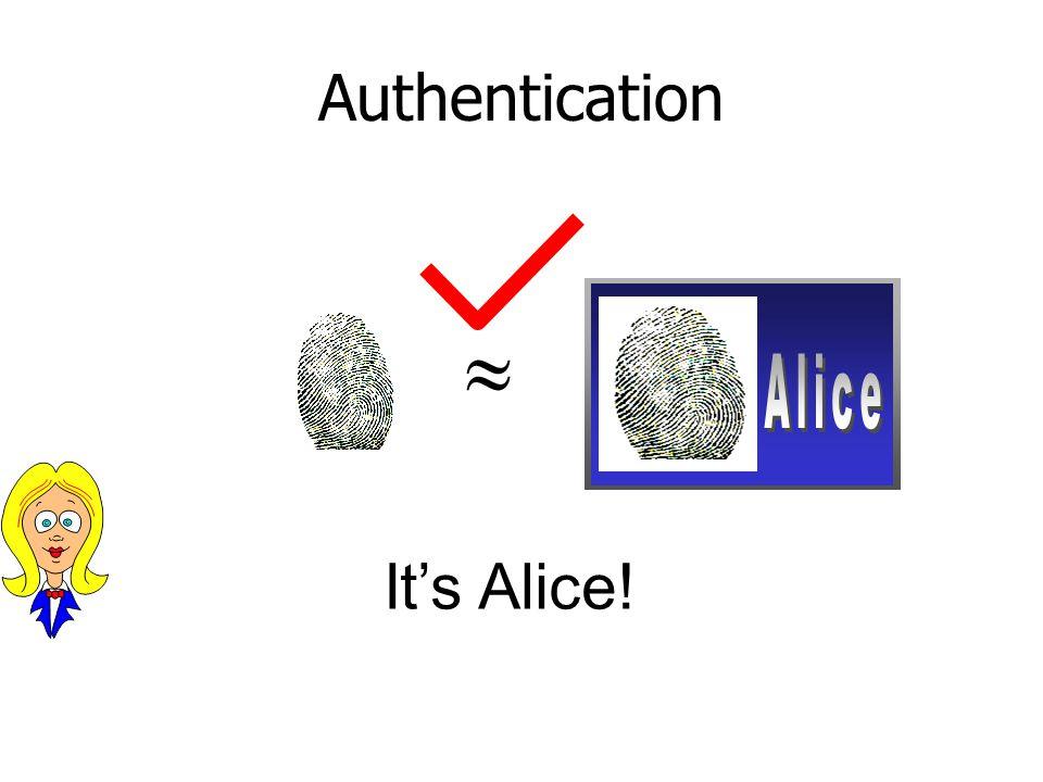  ? It's Alice!