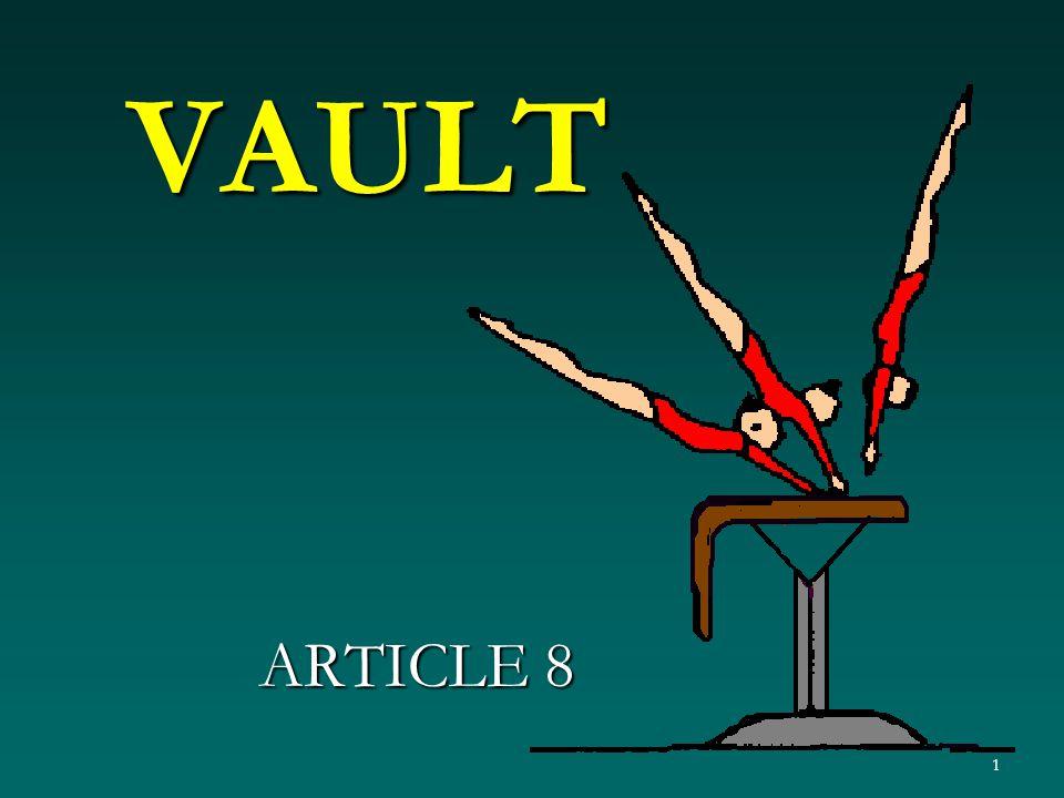1 VAULT ARTICLE 8