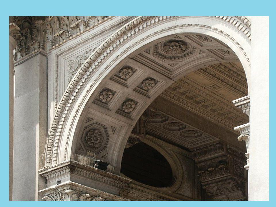 Barrel Vaults of the Basilica Nova 312 AD. Roman Forum, Rome