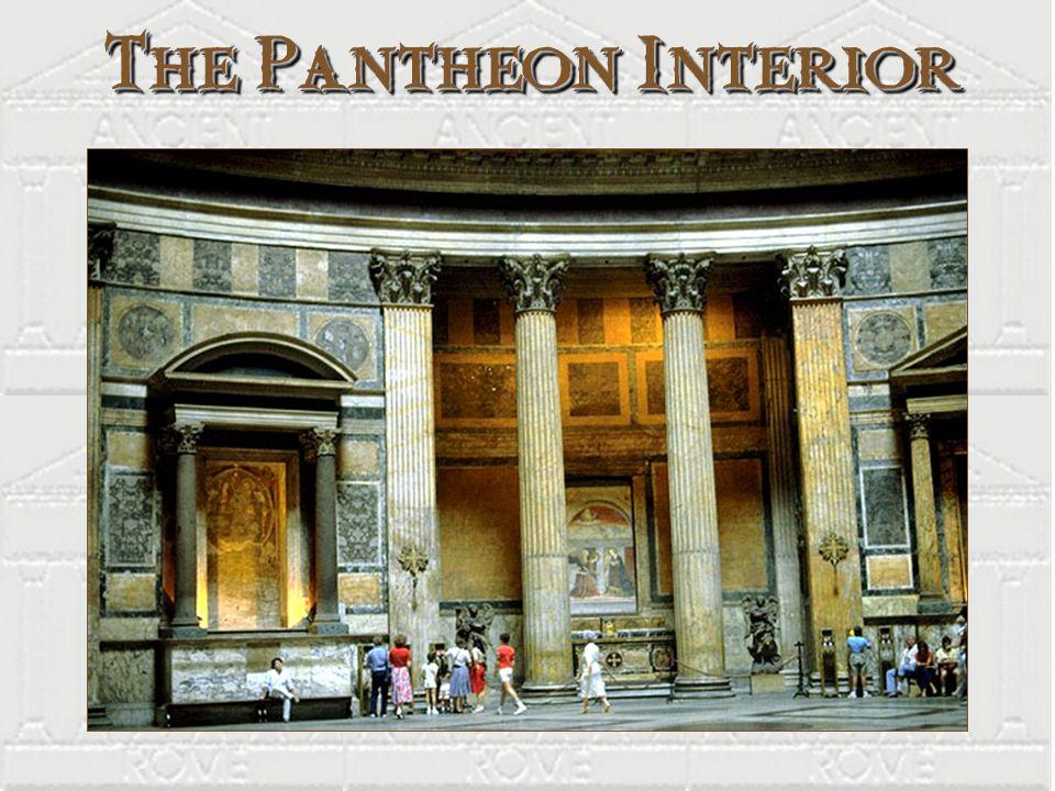 The Pantheon Interior