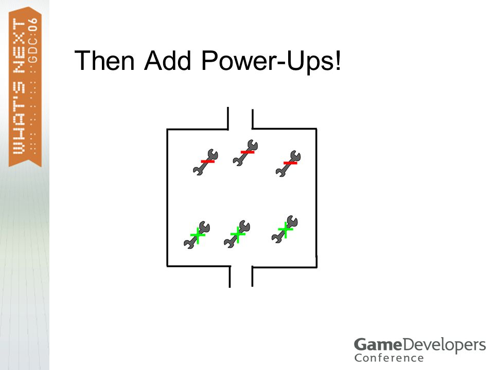 Then Add Power-Ups!