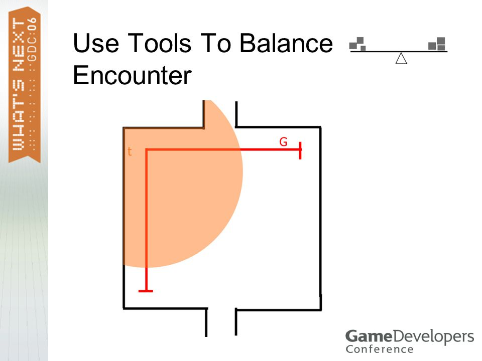 Use Tools To Balance Encounter