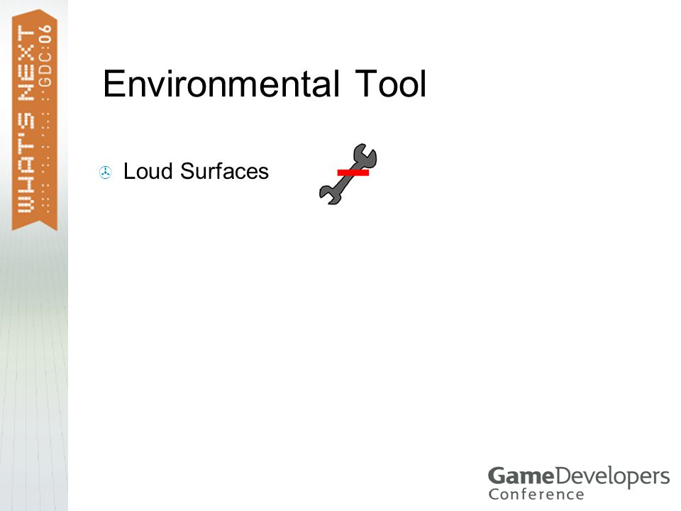 Environmental Tool  Loud Surfaces