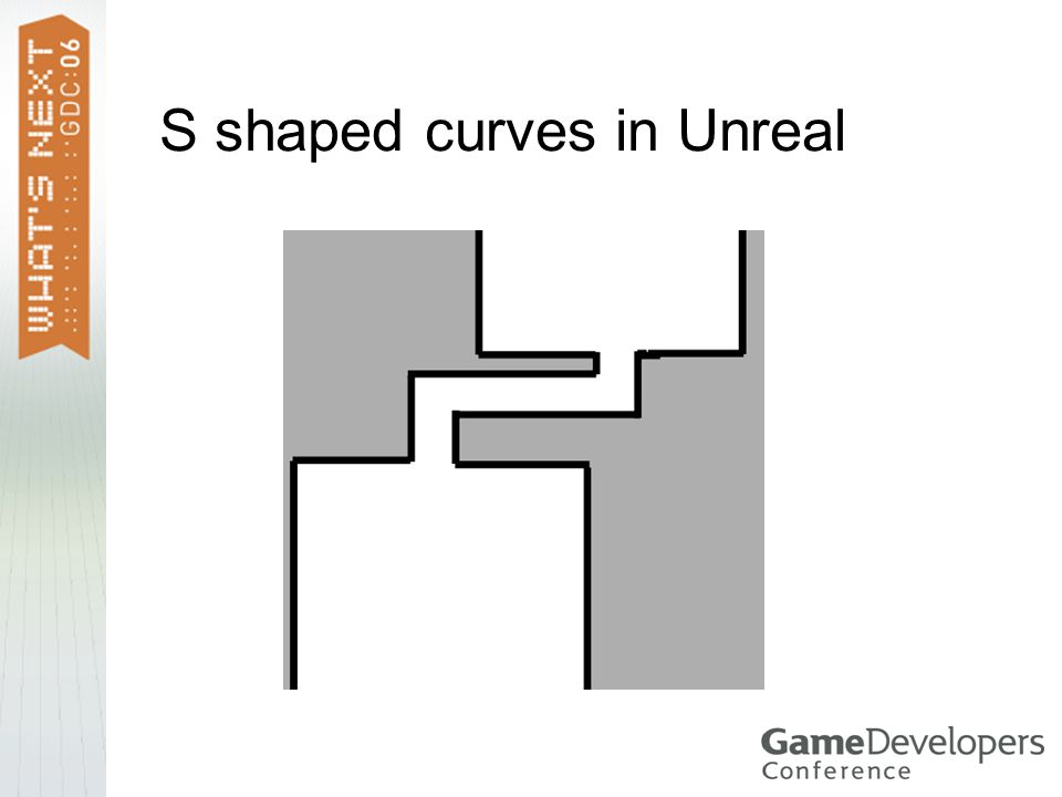 S shaped curves in Unreal