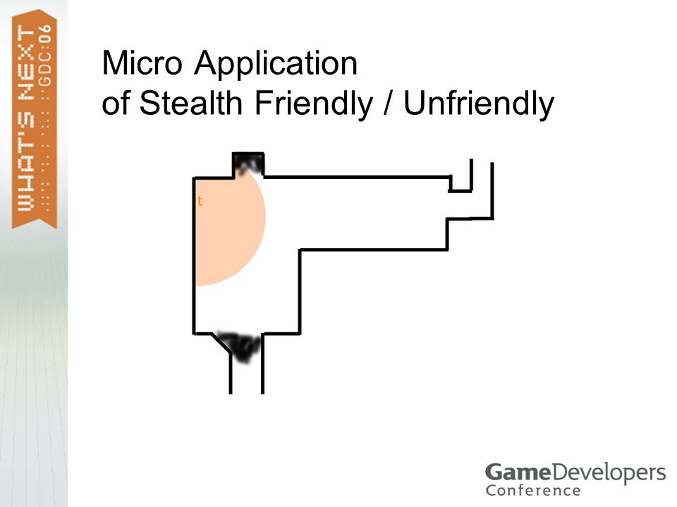 Micro Application of Stealth Friendly / Unfriendly