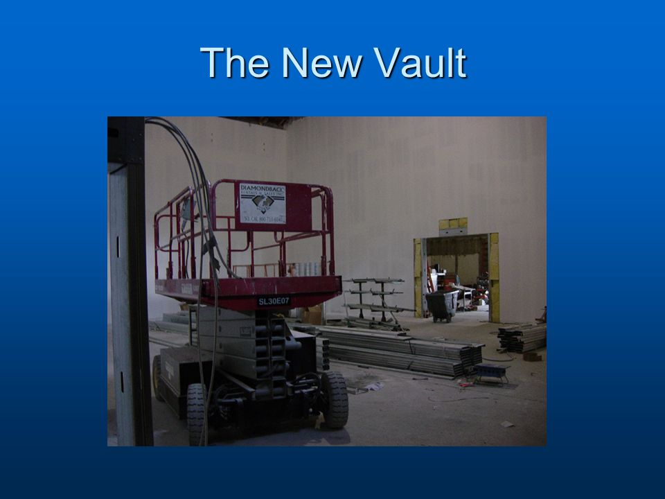 The New Vault