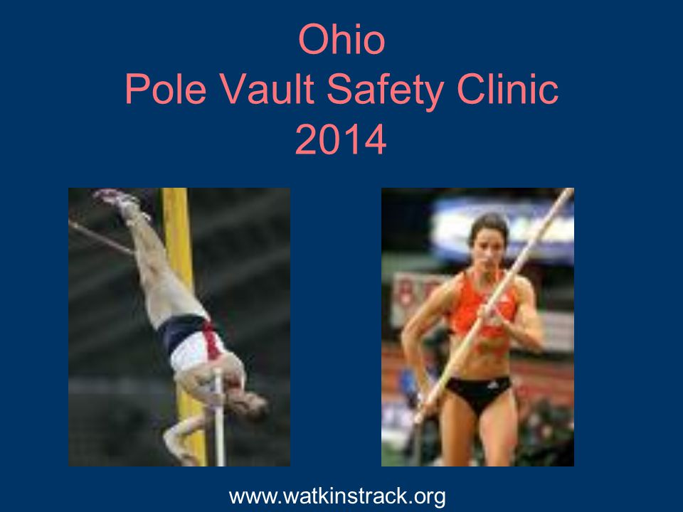 Teaching Progression Every year in March - we have the Middle School Pole Vault night at Watkins.