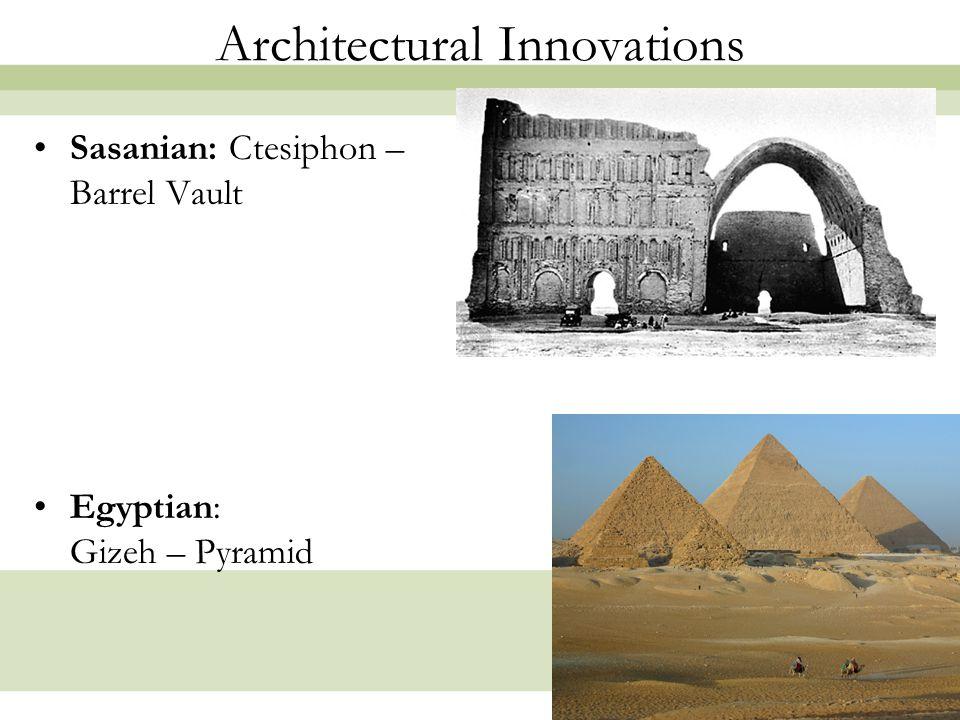 8 Architectural Innovations Archaic Greece: Mycenae – Corbel Arch Etruscan: Perugia – Keystone Arch