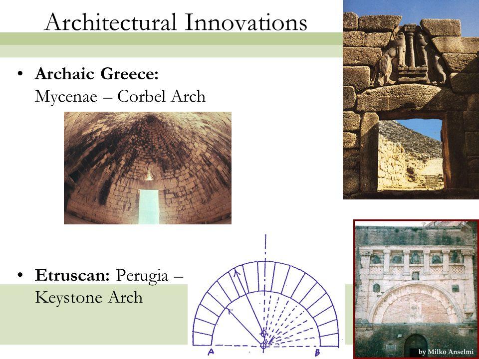 19 Roman Architecture in Pompeii Earliest amphitheater known.