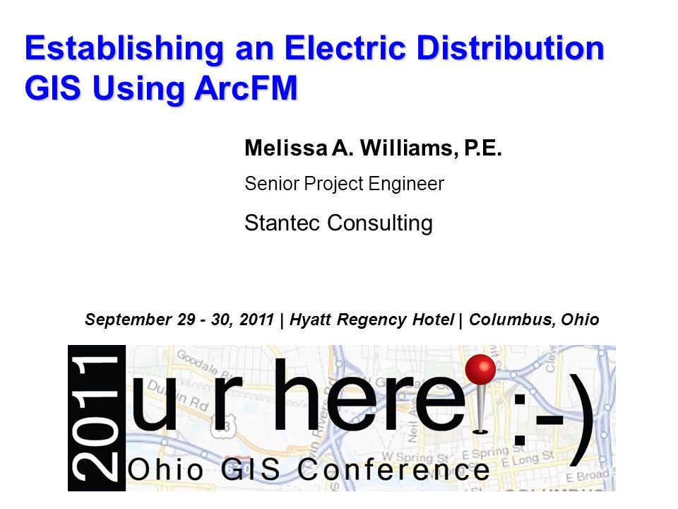 Establishing an Electric Distribution GIS Using ArcFM City of Columbus Electric Distribution Digital Conversion Project Telvent Multispeak Data Model, ArcFM Software Data Conversion Strategy Data Analysis/QC