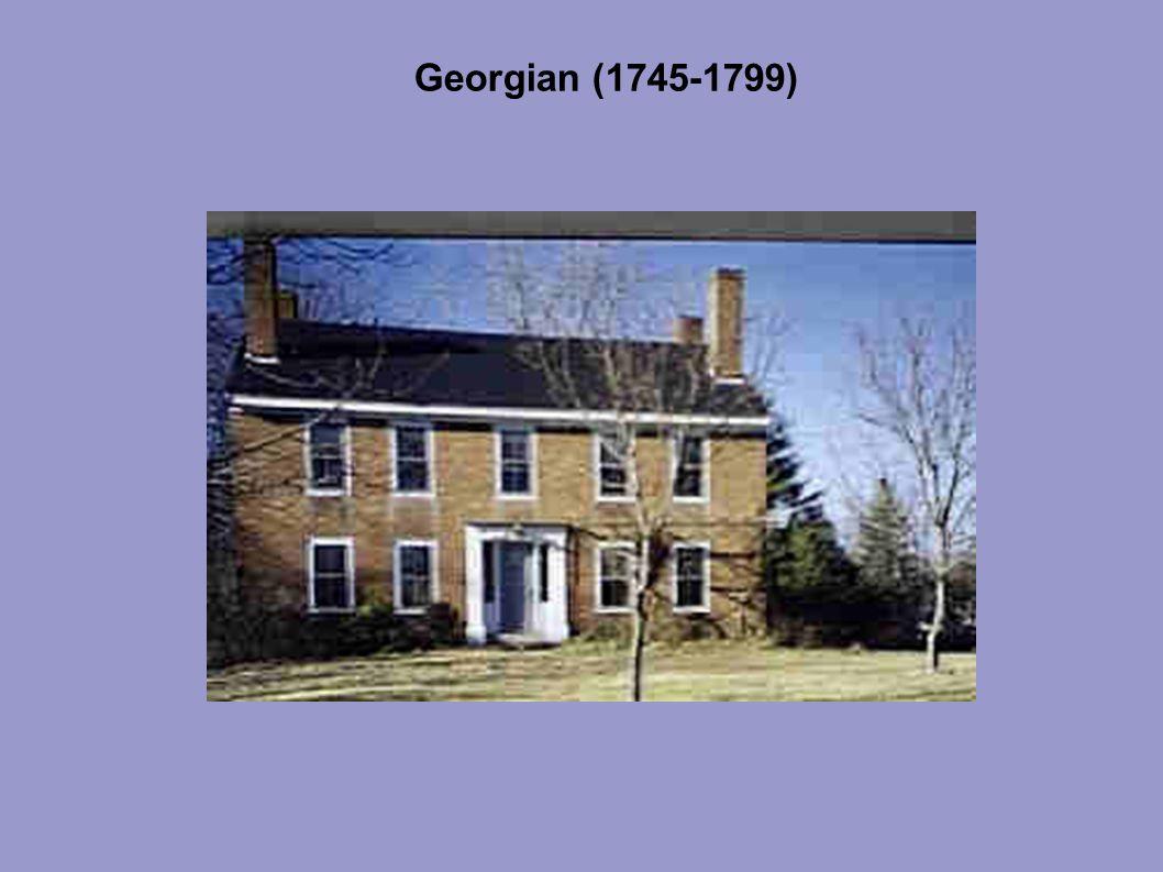 Georgian (1745-1799)