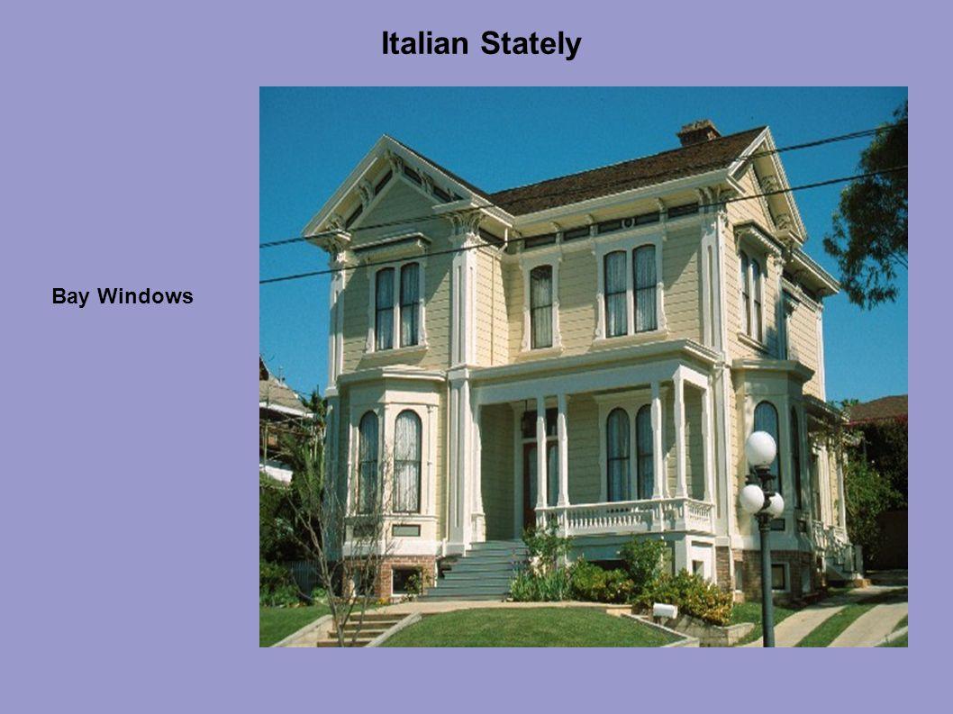 Italian Stately Bay Windows