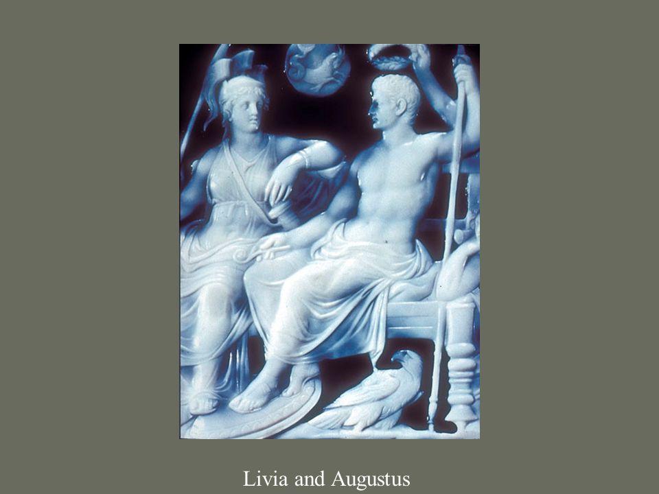 Livia and Augustus